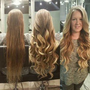 Mermaid blow out
