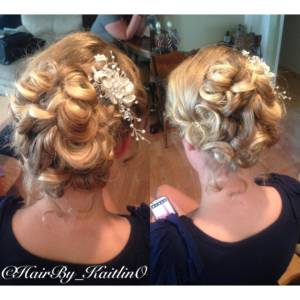 Whirlwind Blow Dry Bridal up dos